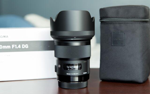 Sigma Art 50mm f 1,4 per Nikon nuovo in garanzia
