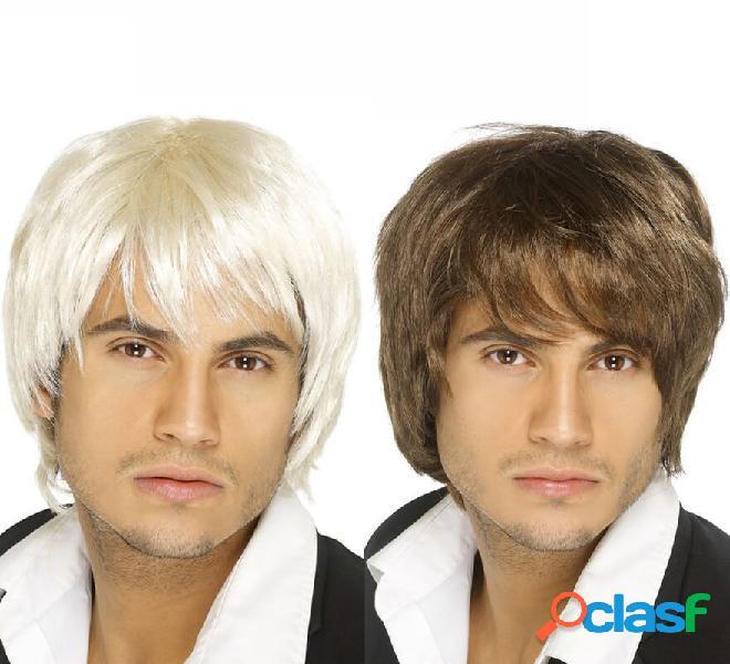 Parrucca corta anni '80 in vari colori