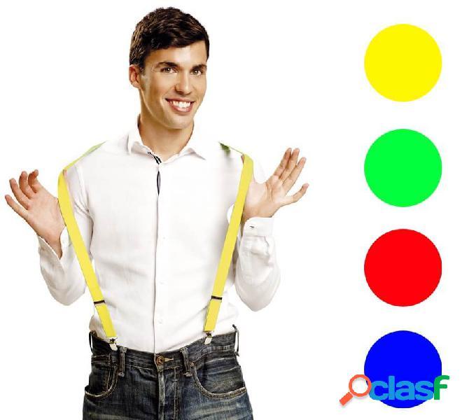 Bretelle in vari colori
