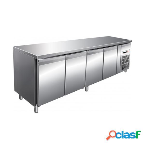 Tavolo refrigerato positivo prof.700 gastronomia gn1/1 ventilato - temp. -2°c +8°c