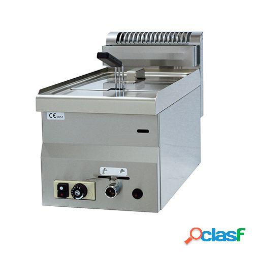 Friggitrice da banco con alimentazione a gas - 1 vasca - capacità 8 lt - 6300 w
