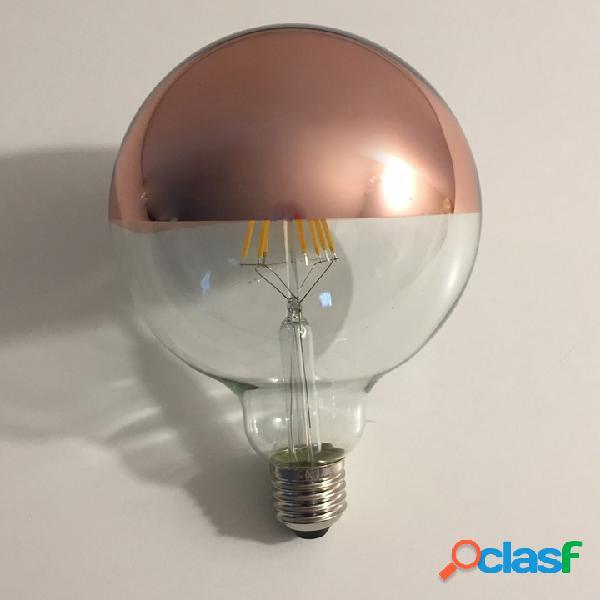 Lampadina a led tipo globo con cupola colorata - e27 - 8w - 806 lumen rame