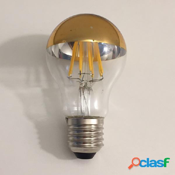 Lampadina a led tipo sfera con cupola colorata - e27 - 8w - 806 lumen oro