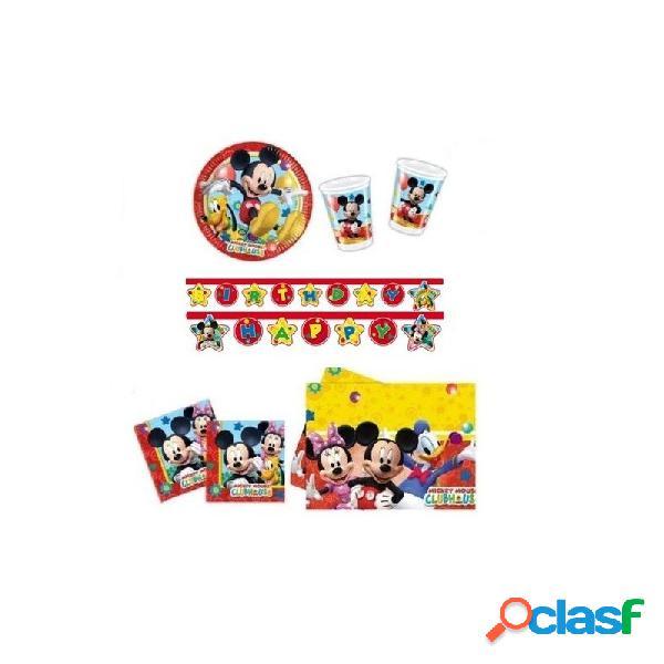Kit n 13 topolino coordinato tavola per compleanno