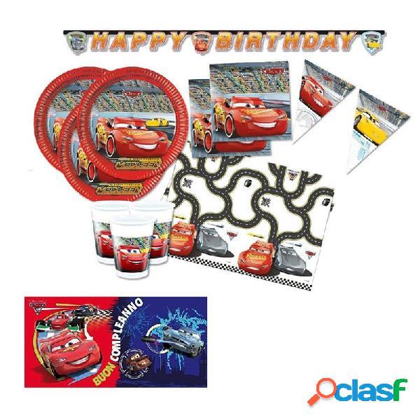 Kit n.41 set compleanno cars 3
