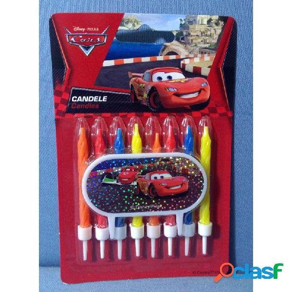 8 candeline cars per festa a tema disney