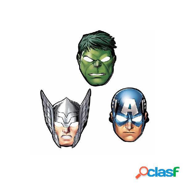 8 pz mascherine avengers assemble 360084-55