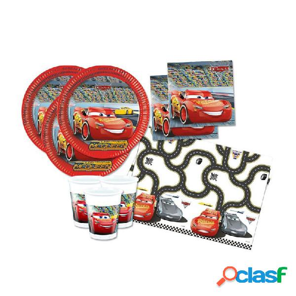 Kit n. 3 accessori per la tavola cars 3