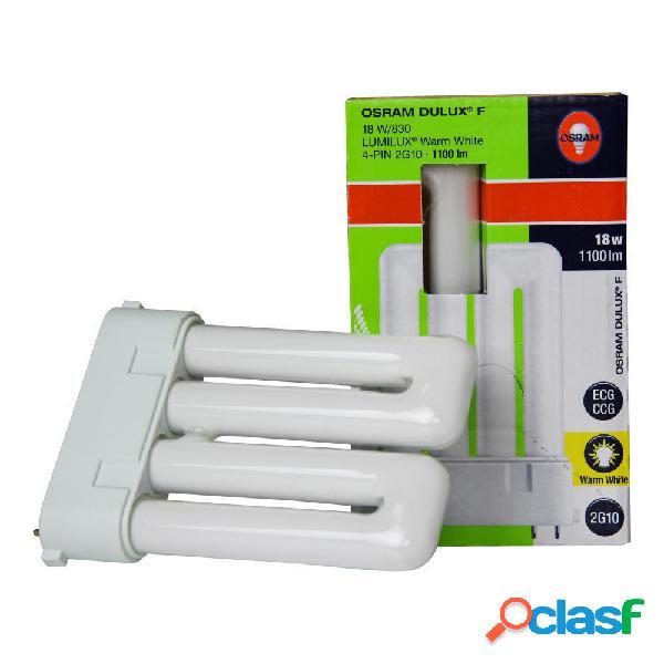 Osram dulux f 18w 830 | luce calda - 4-pin