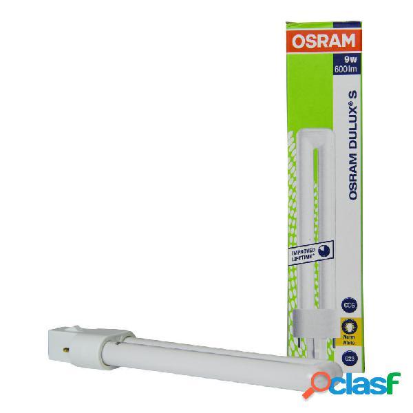 Osram dulux s 9w 830 | luce calda - 2-pin
