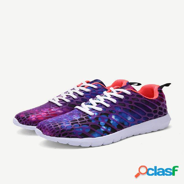 Scarpe da uomo e da donna per amanti della moda scarpe sportive casual mimetiche alla moda scarpe da corsa con lacci