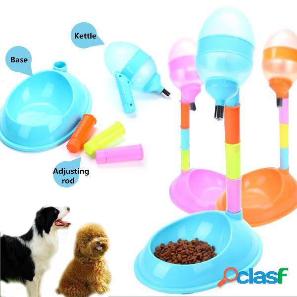 Distributore automatico di cibo per acqua per gatti per cuccioli di cane da compagnia