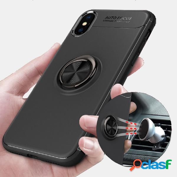 Custodia protettiva multifunzione per telefono magnete sottile custodia protettiva per copri-dita con anello di decompressione