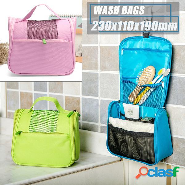 3 colori di viaggio multifunzione borsa lavaggio portatile impermeabile oxford panno borsa