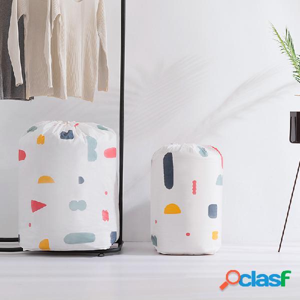 Immagazzinamento di quilt per uso domestico borsa a prova d'umidità borsa finitura di abiti per quilt borsa trasloco borsa
