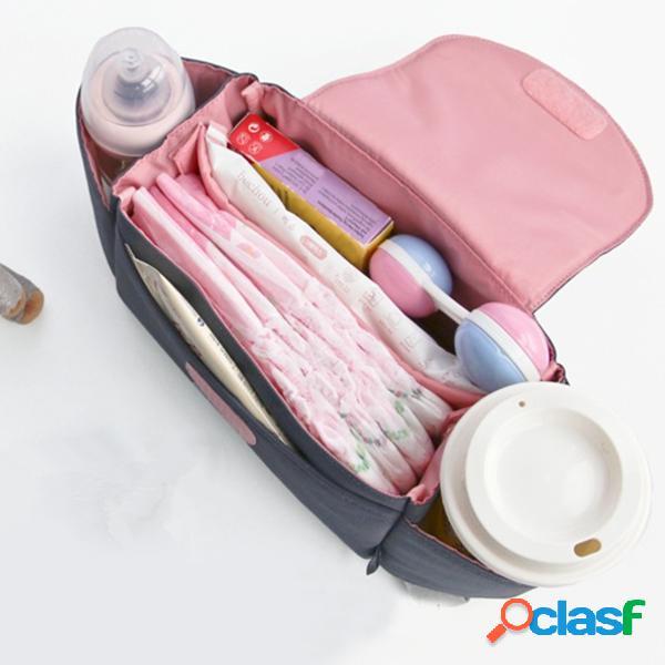 Passeggini per bambini organizzatore bagagliera borsa per pannolini pram hand hand handing gancio bag