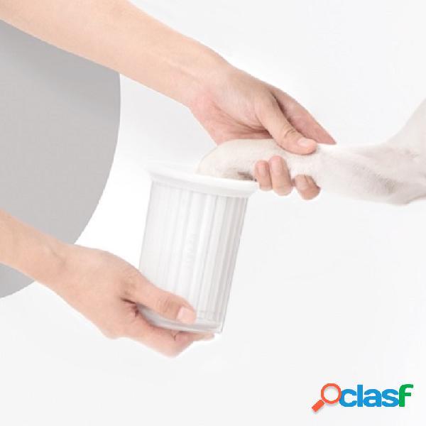 Petkit piedi per lavaggio animali domestici zampe per lavaggio tazza articoli per toelettatura per la pulizia di cani da compagnia