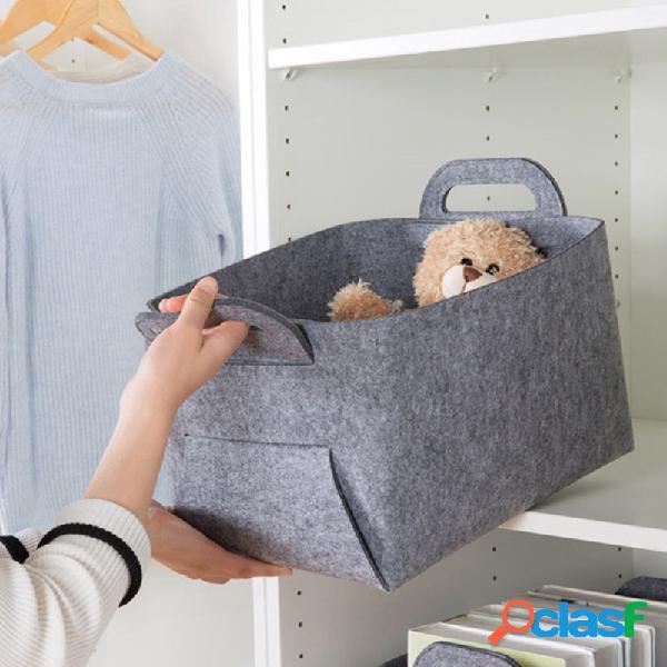 Feltro borsa feltro borsa cestello portaoggetti in feltro supporto controllo qualità prezzo basso