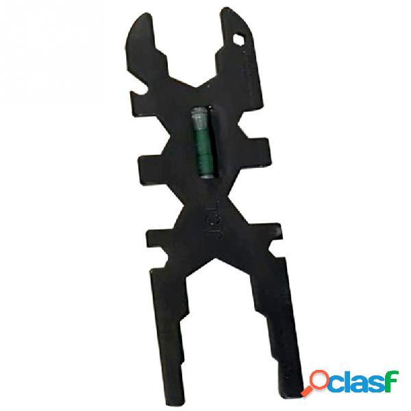 Multifunzionale socket wrench scala in acciaio al carbonio funzione bagno portatile rubinetto rubinetto riparazione