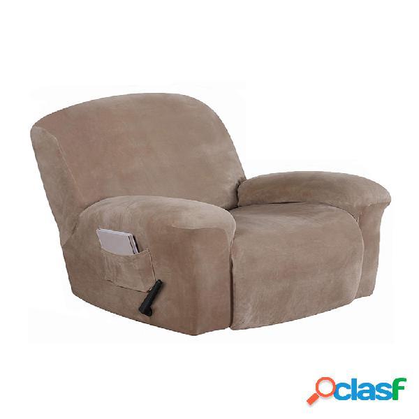 fodera per poltrona reclinabile elasticizzata in pelle scamosciata antiscivolo impermeabile soft fodera per poltrona per divano