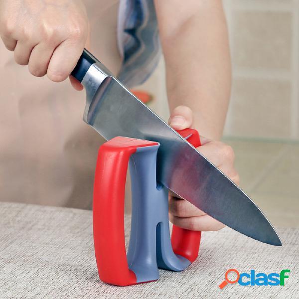 Pietra da affilare manuale per utensili da cucina per uso domestico durevole per affilare i coltelli in metallo duro