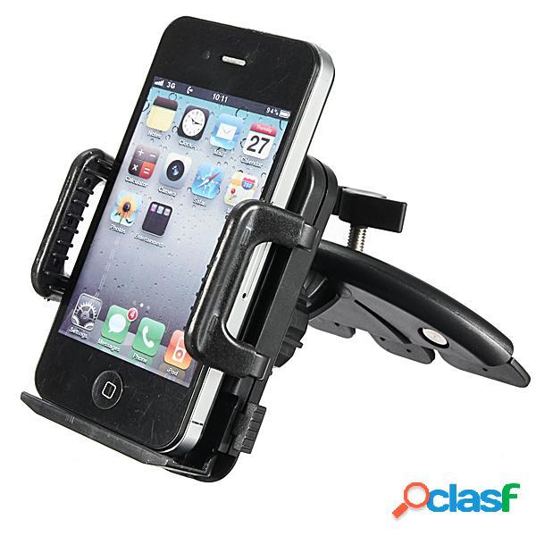 Supporto del supporto del supporto della scanalatura del cd dell'automobile per il supporto della staffa del telefono domestico di mp3 mp4 di cellphone
