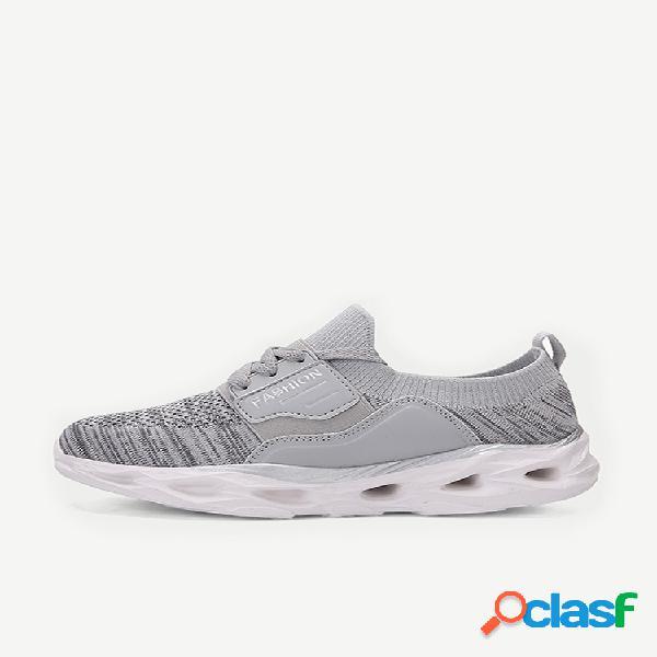 Scarpe casual da donna scarpe da ginnastica elastiche in rete leggera banda