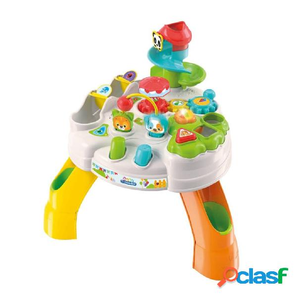 Clementoni gioco tavolo di attività per bambini park multicolore