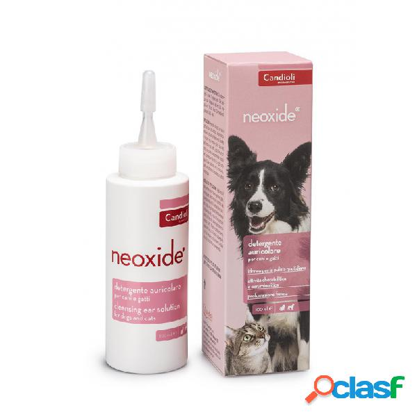 Candioli - Neoxide Detergente Auricolare Per Cani E Gatti Flacone Da 100 Ml