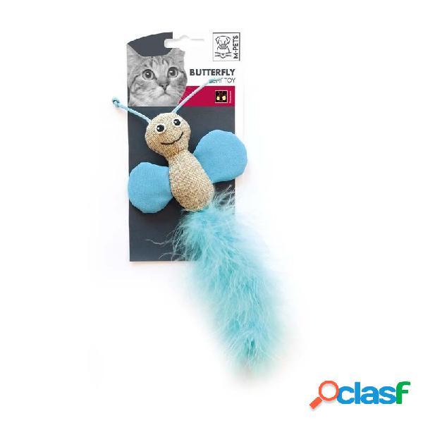 M-pets - m-pets butterfly gioco per gatti colori assortiti confezione da 1 gioco