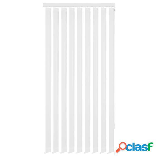 Vidaxl tende oscuranti verticali in tessuto bianco 150x250 cm
