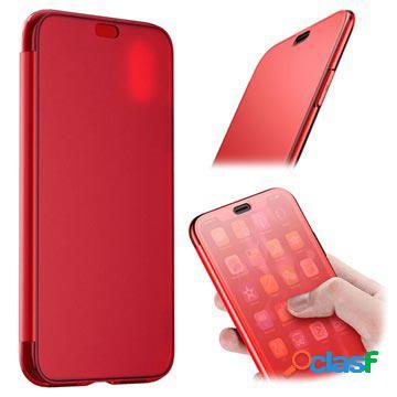 Custodia a flip baseus touchable per iphone xs max - rossa