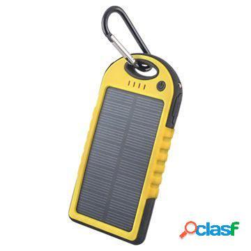 Batteria solare forever stb-200 - 5000mah - gialla