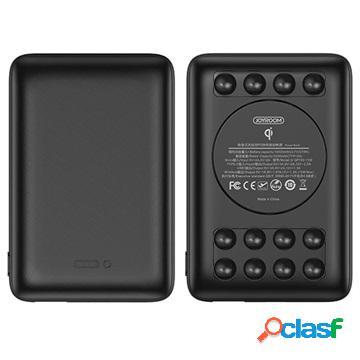 Caricabatterie qi wireless / power bank joyroom d-q183 - 10000mah - nero