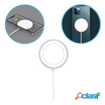 Caricabatterie wireless magnetico - iphone 12/12 pro/12 pro max/12 mini - 5w-15w