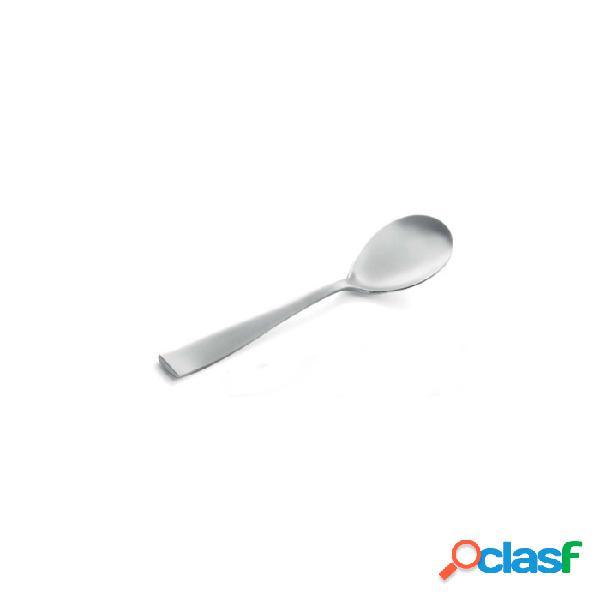 Cucchiaio tavola etoile in acciaio inox sabbiato cm 22