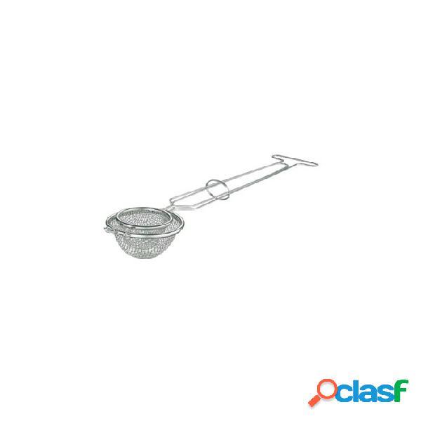 Cestino a nido di rondine per fritti in acciaio inox 8 cm