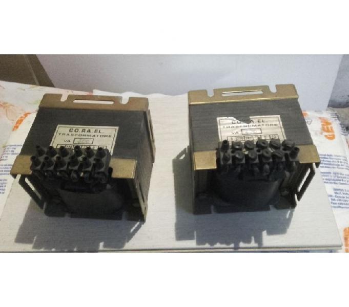 Coppia di trasformatori 220380 volt - 12 volt co.ra.el bari