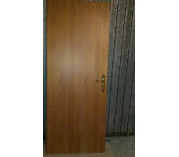 Porta tamburata portone per interni in legno maniglia casa vittoria - casalinghi - articoli per casa e giardino