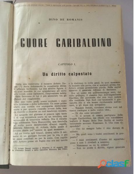 Romanzo CUORE GARIBALDINO 8