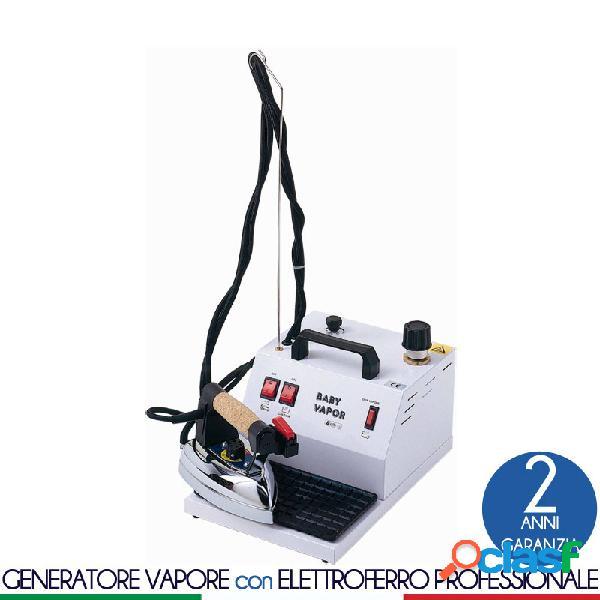 Stirella generatore di vapore con caldaia da 2 lt dotato di ferro da stiro professionale bieffe