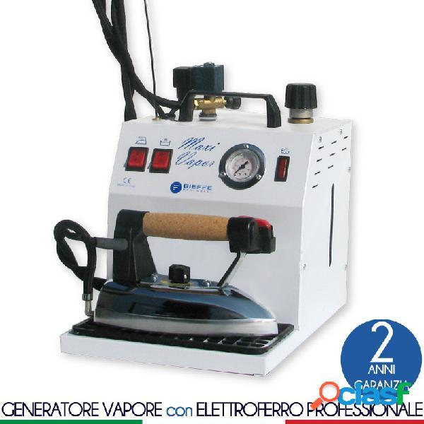 Stirella generatore vapore caldaia maxi vapor da 3.5 lt manopola esterna regolazione vapore e di ferro da stiro professionale