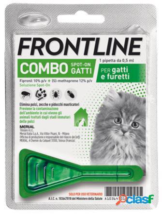 Frontline combo antiparassitario per gatti (1 pipetta)