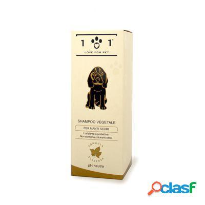 Love for pet shampoo vegetale per manti scuri 250 ml
