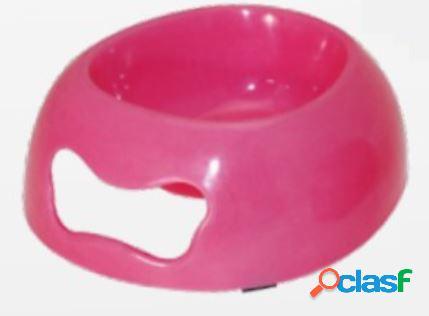 Croci ciotola per cani e gatti bon bon farfalla rosa ml 400