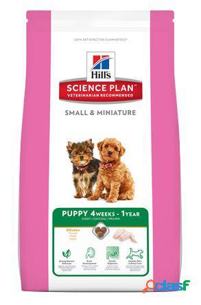 Hill's science plan small & mini puppy alimento per cuccioli con pollo