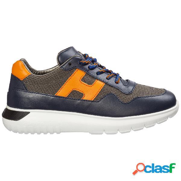 Scarpe sneakers bambino pelle interactive3