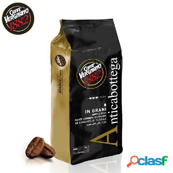 Caffè vergnano antica bottega miscela oro caffè in grani 1 kg