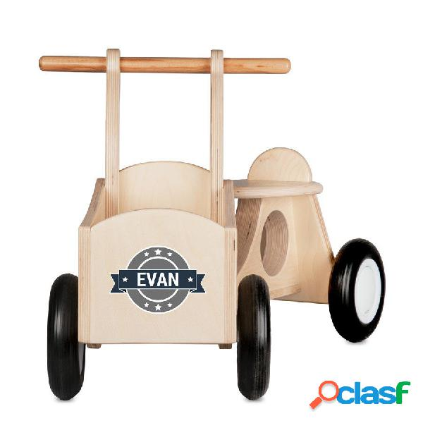 Bici da carico per bambini (legno)