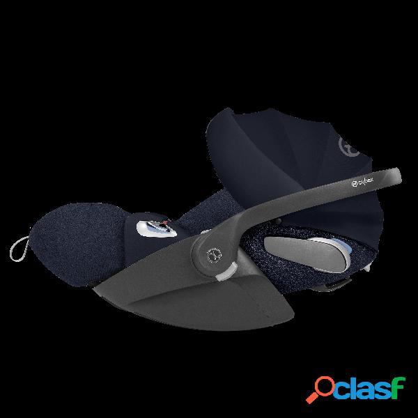 Seggiolino auto cybex cloud z i size plus platinum inclusa sensorsafe nautical blue/navy blue